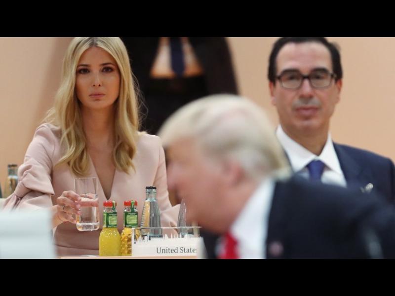 Тръмп: Аз казах на Иванка да седне на мястото ми на Г-20