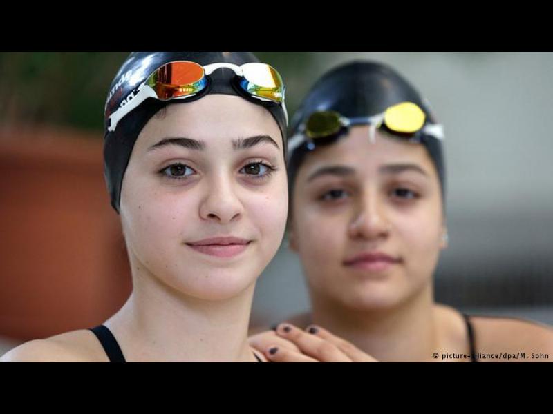 Вдъхновяващата история на две сирийски сестри