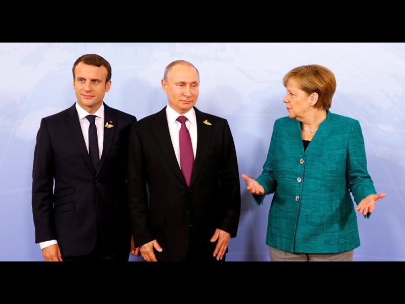Путин, Меркел и Макрон  се разбраха за спиране на огъня в Сирия