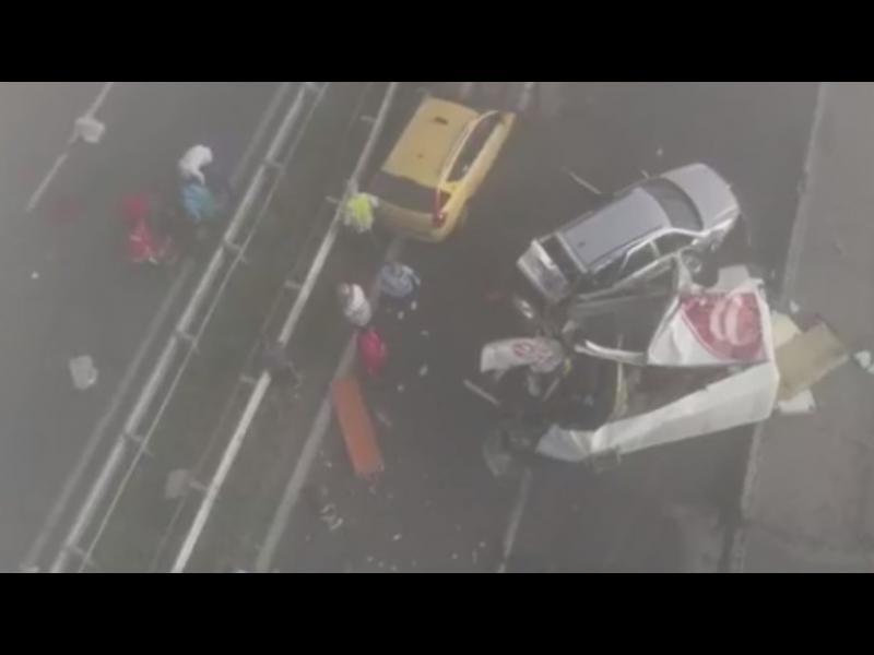 """Над 40 автомобила се сблъскаха в две тежки верижни катастрофи на AM """"Тракия"""""""