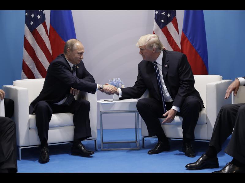 Втора среща Тръмп - Путин на Г-20