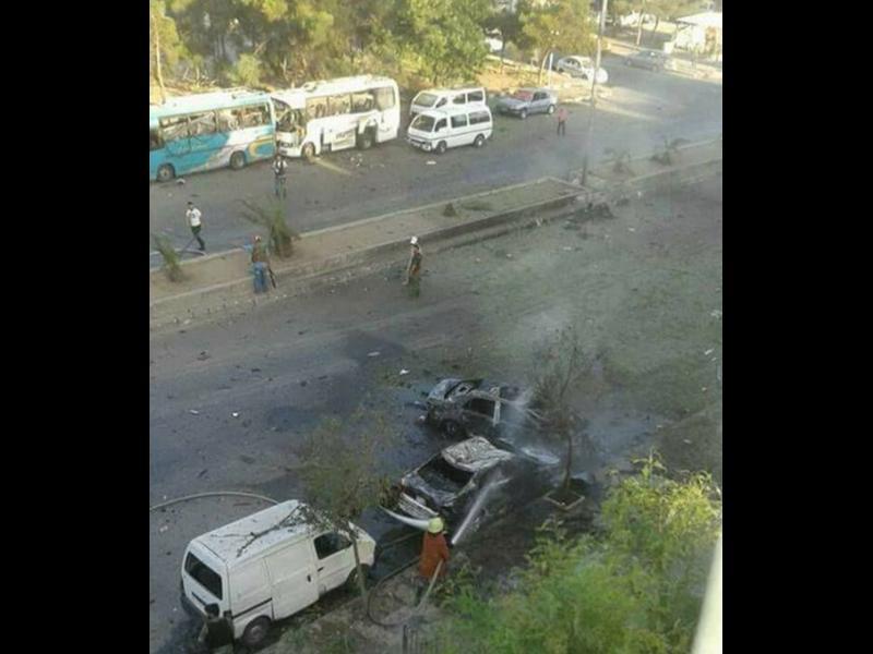 8 жертви и 12 ранени при самоубийствен атентат в Дамаск