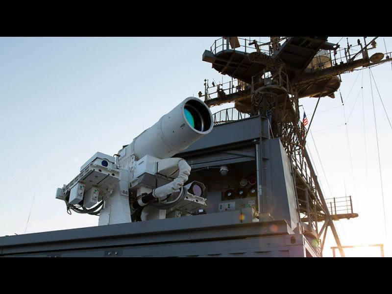 САЩ показаха първото действащо лазерно оръжие в света