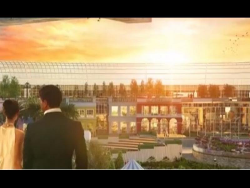 Така ще изглежда нов мол в Дубай, вдъхновен от природата /ВИДЕО/