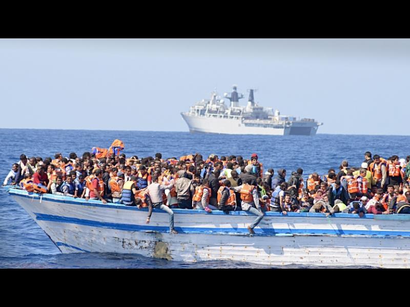 """Амнести обвини ЕС за """"гробището"""" за мигранти в Средиземно море"""