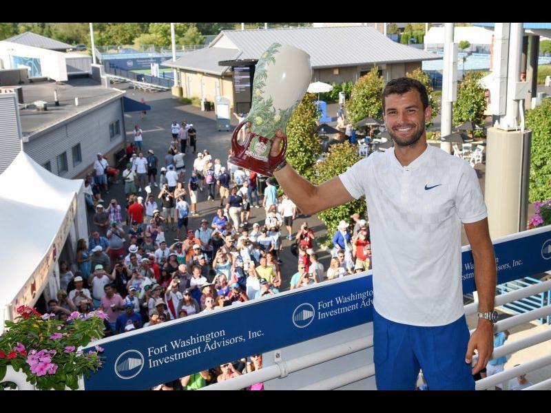 Григор Димитров: Да, целта ми е трофеят от US Open