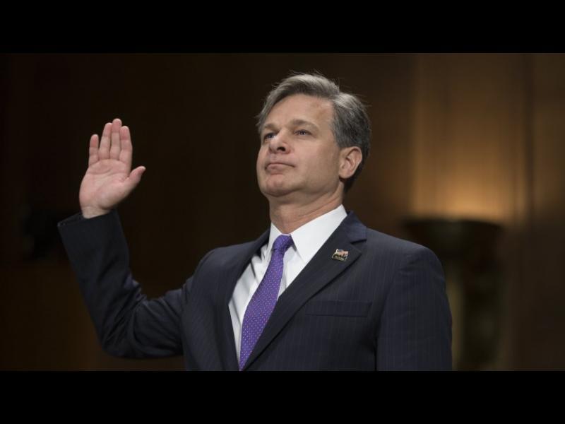 Кристофър Рей утвърден за директор на ФБР от Сената на САЩ