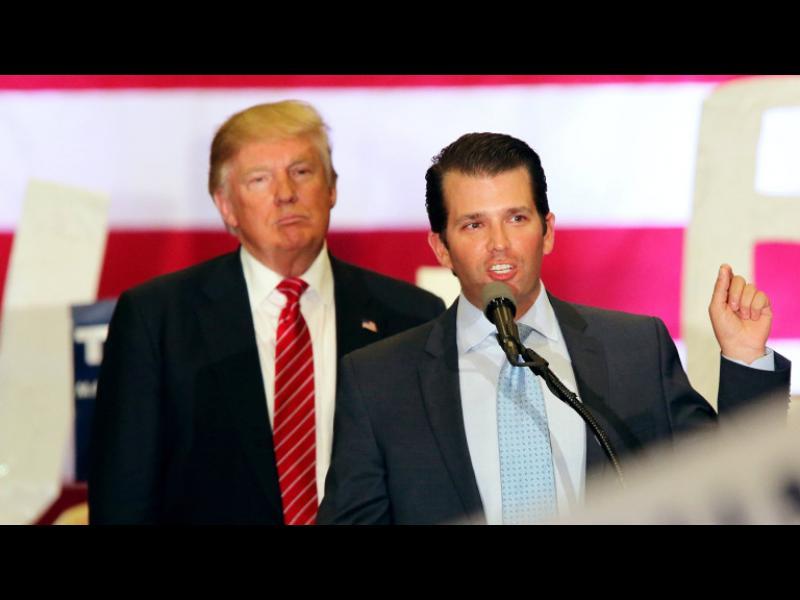 Тръмп диктувал на сина си какво да каже за срещата с руски адвокат