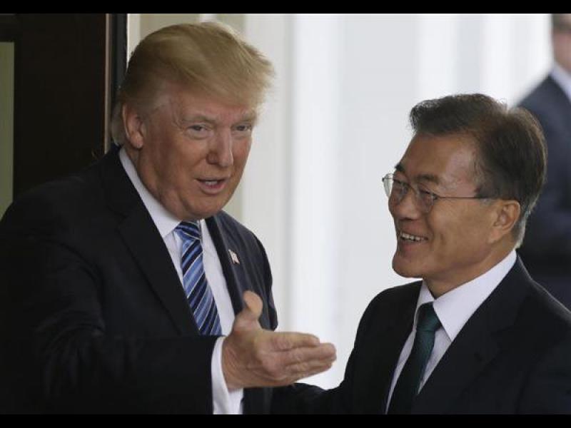 Не бива да има повече войни на Корейския полуостров, каза президентът на Южна Корея