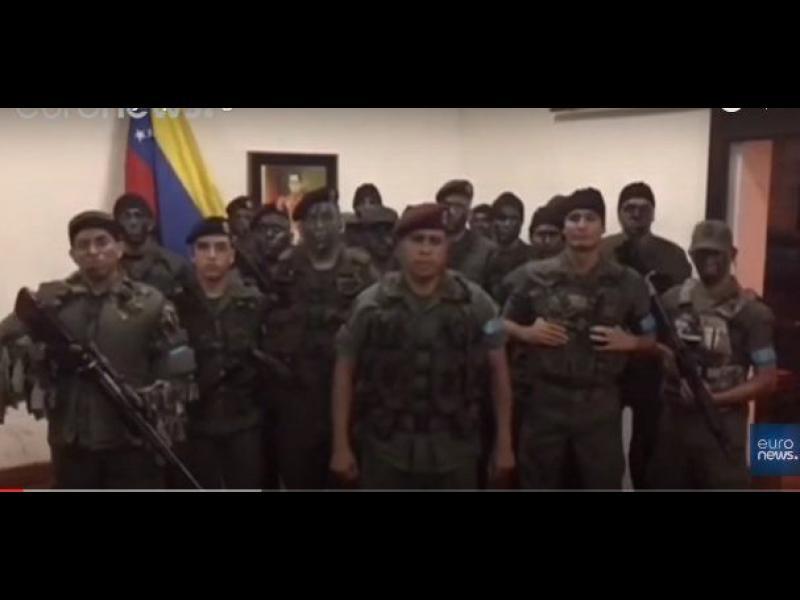 Военен бунт във Венецуела завърши с пленници и жертви