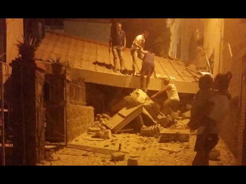 Земетресение на италианския остров Иския, има две жертви