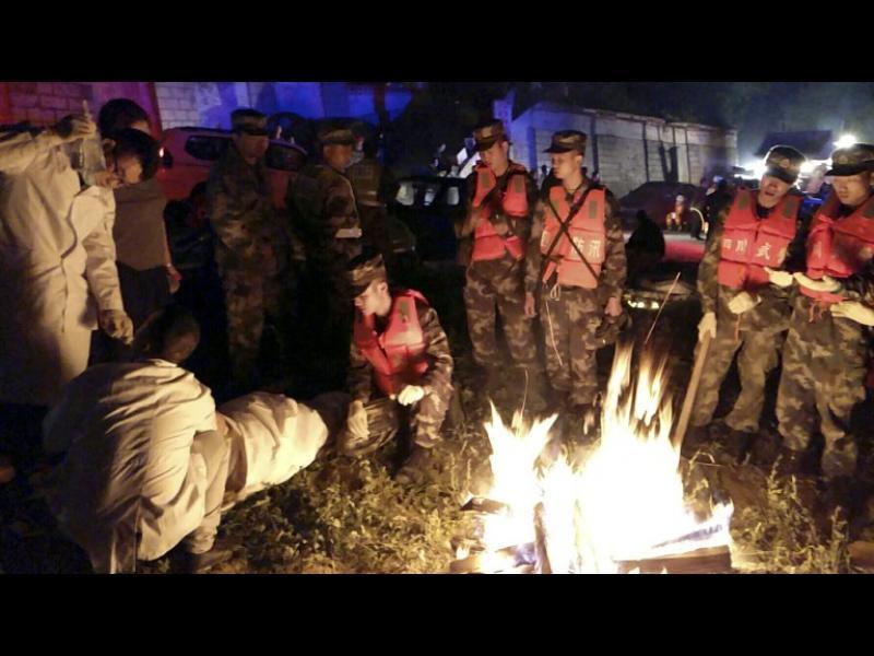 13 жертви, 175 ранени при силно земетресение в Китай