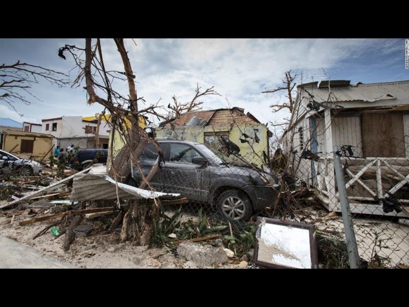Пустош след Ирма: 1/4 от домовете са разрушени