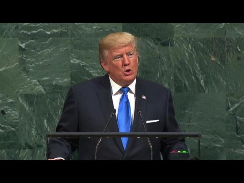 Тръмп нападна Иран, заплаши Корея с унищожение