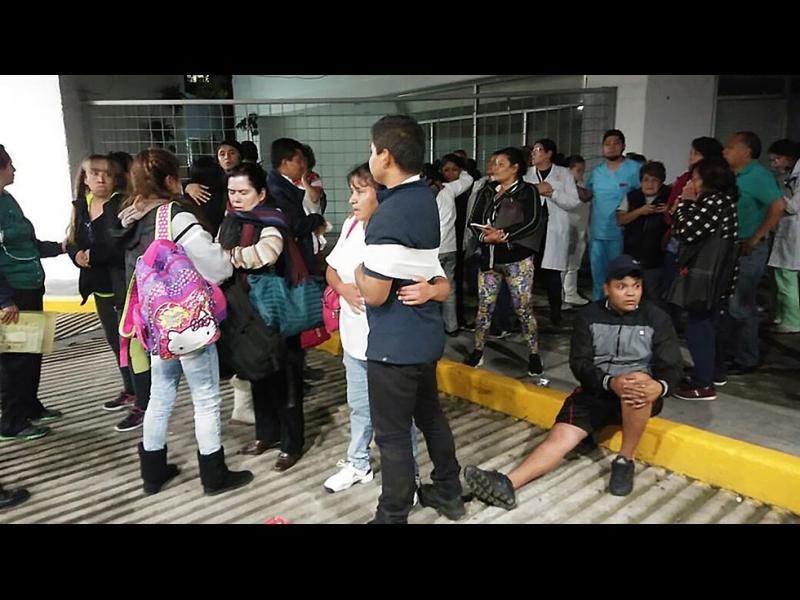 Мощно земетресение от 8,1 по Рихтер удари Мексико (ВИДЕО)