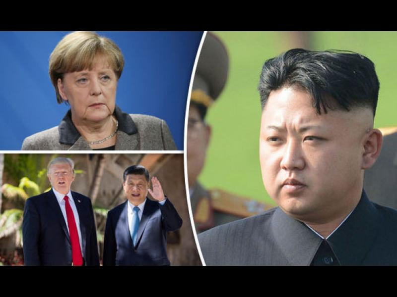 Меркел: Европа трябва да играе важна роля за уреждане на кризата със Северна Корея