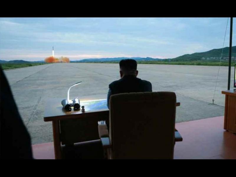 Северна Корея изстреля нова ракета