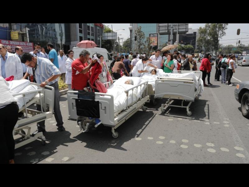 Мощен трус разлюля Мексико, жертвите са над 140