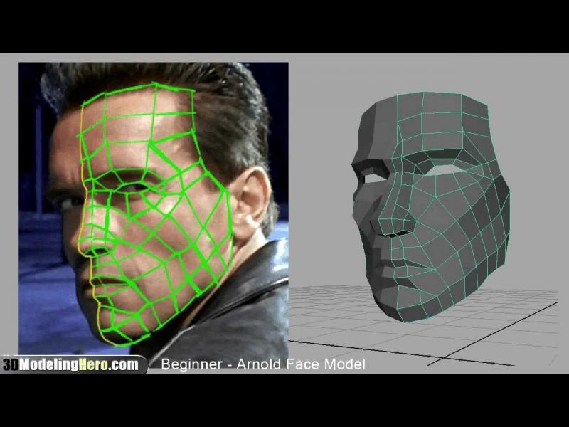 Вижте как изглежда лицето ви като 3D-модел