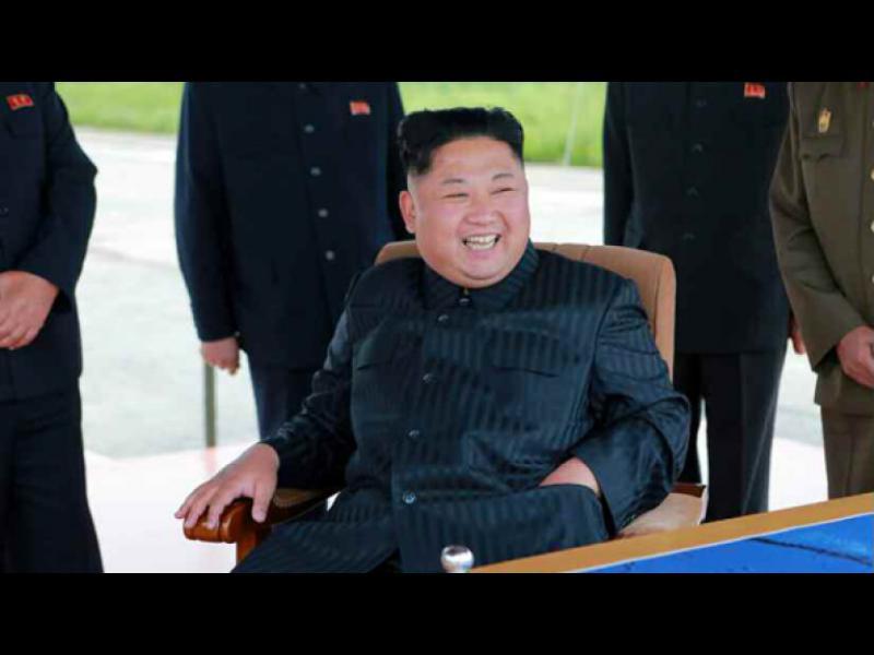 """Северна Корея оприличи речта на Тръмп на """"кучешки лай"""""""