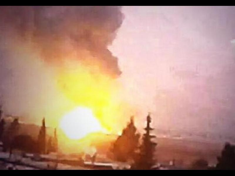 Израел удари склад с химически оръжия в Сирия