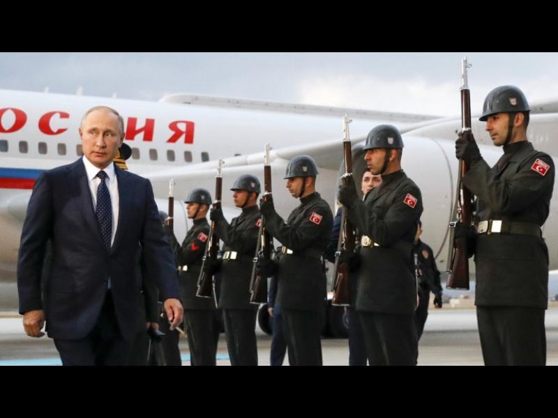 Путин и Ердоган няма да делят Сирия и Ирак