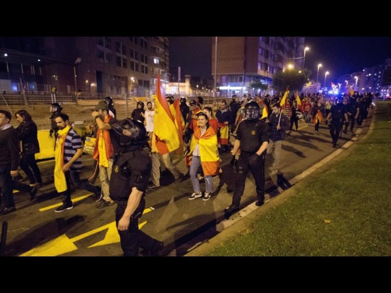 Трима пострадали при сблъсаци в Каталуния