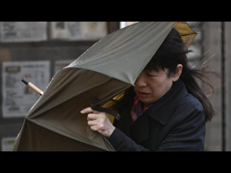 Евакуация в Япония заради тайфун