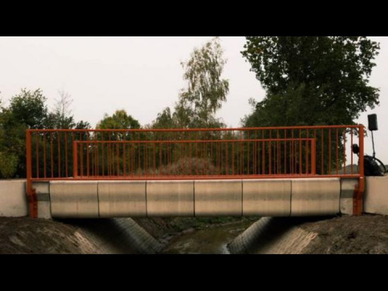 Първият мост в света, отпечатан с 3D принтер (видео)