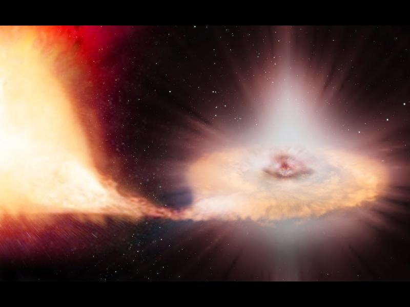 Взрив на звезда дал начален тласък на еволюцията на човека?