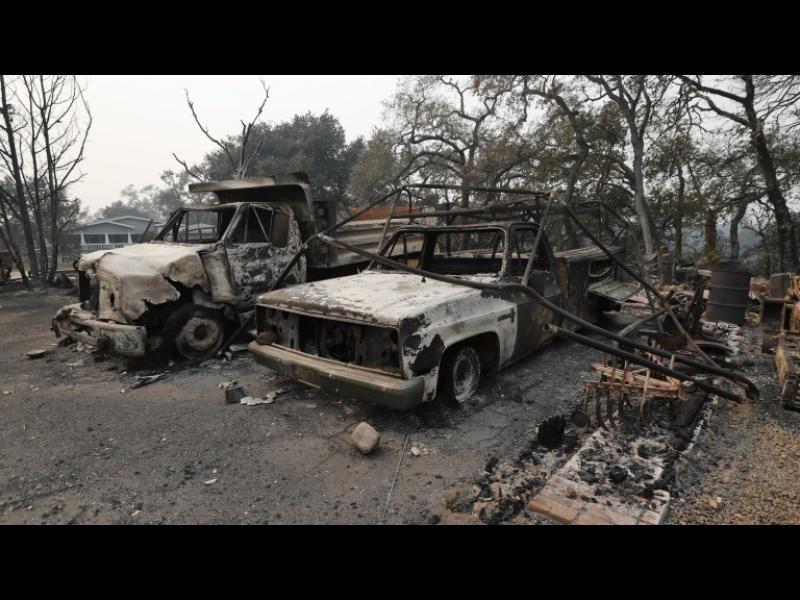 Равносметка: 21 души са загинали при пожарите в Калифорния - картинка 1