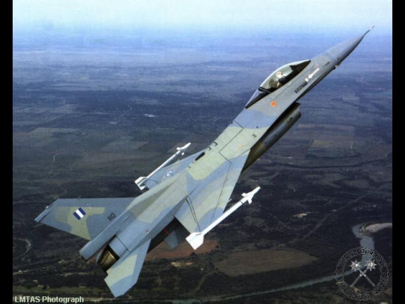 Гърция купува от САЩ изтребители F-16  за $2,4 млрд.