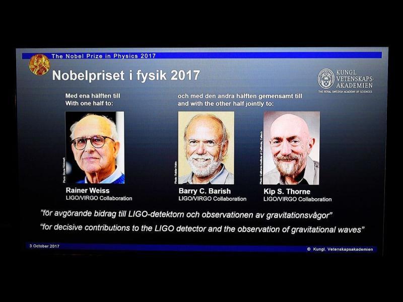 Нобел за физика - за регистрирането на гравитационните вълни