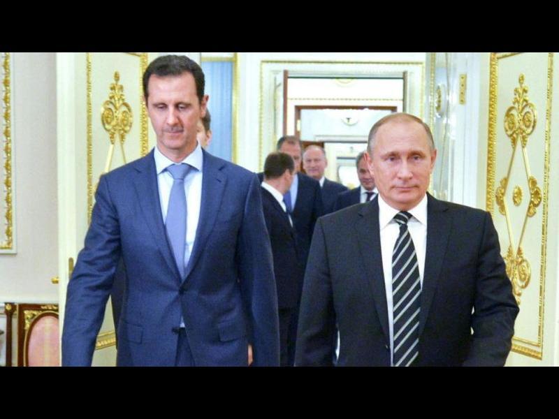 Путин и Асад се срещнаха в Сочи - картинка 2