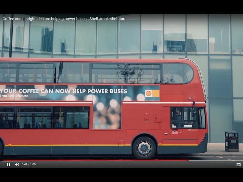 Лондонските автобуси ще се движат с утайка от кафе