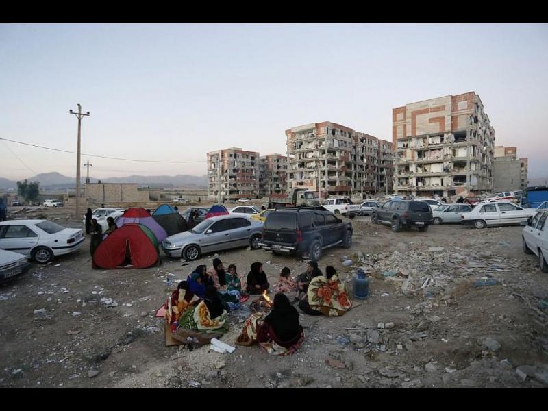 Жертвите при труса на границата между Ирак и Иран са вече 328 - картинка 1