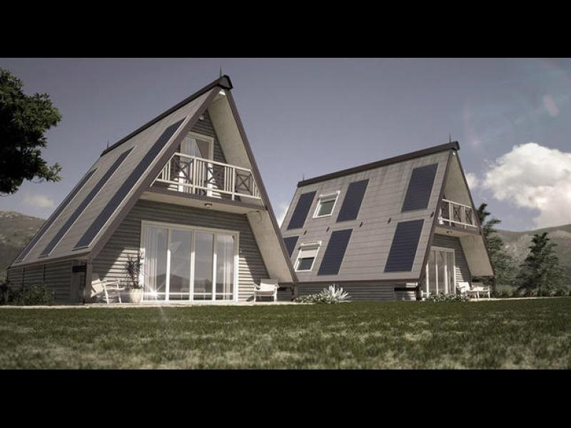Невероятна къща, която може да бъде построена за 6 часа (ВИДЕО)