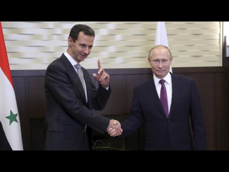 Путин и Асад се срещнаха в Сочи