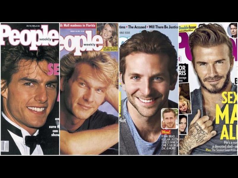 Най-сексапилните мъже според списание People от 1990 г. до днес
