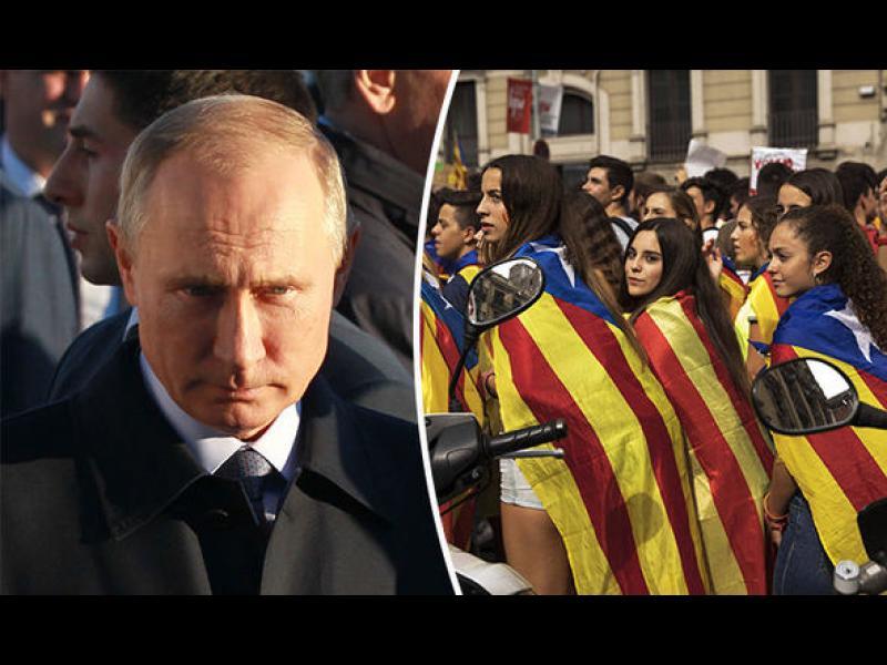 ЕС: Кремълската пропагандна машина се е заела с Каталуня