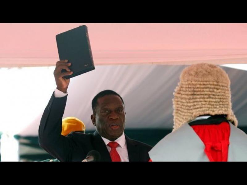 Емерсон Мнангагва - Крокодила стана президент на Зимбабве