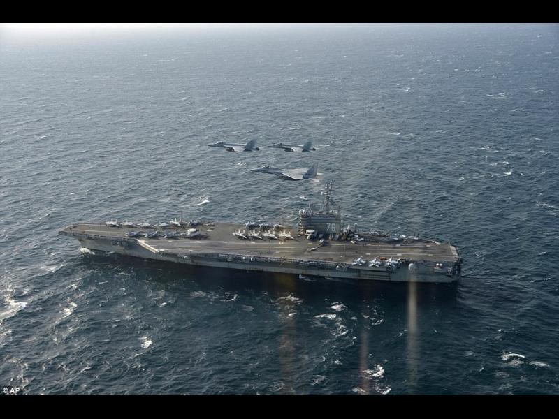 САЩ трупат военна сила край Северна Корея - картинка 1