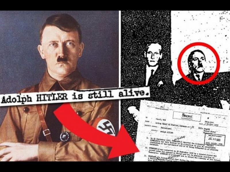 Разсекретени документи на ЦРУ: Хитлер е видян жив през 1955 г. в Боливия