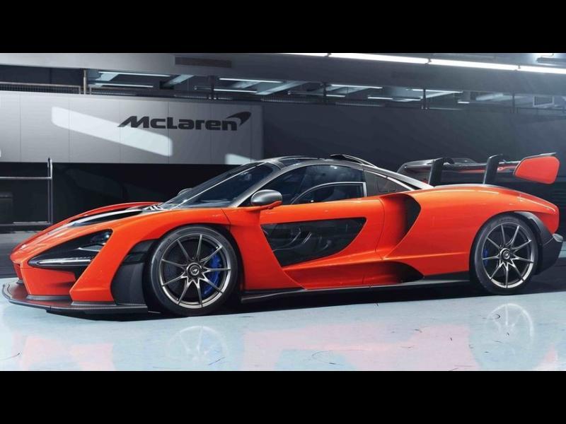 """""""Сена"""" - най-спортният цивилен автомобил на """"Макларън"""""""
