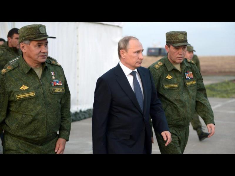 Путин от Сирия: Тръгваме си, но пак ще удряме терористите
