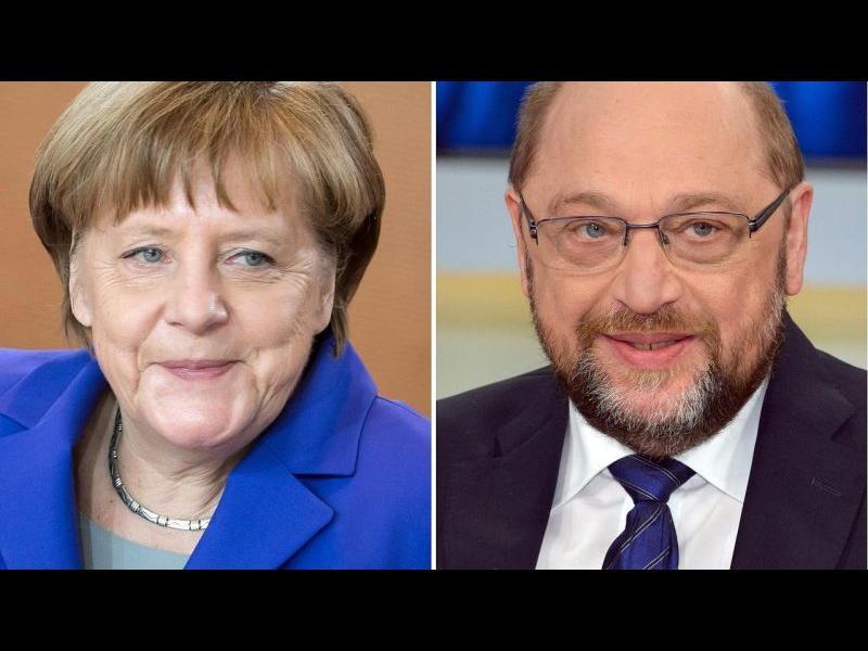 Меркел и Шулц днес правят първата крачка към широка коалиция