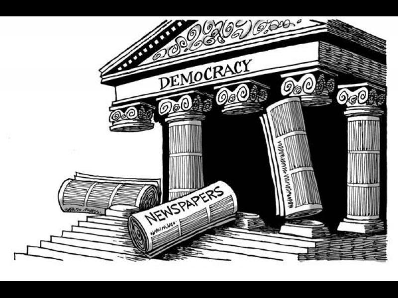 Непоносимият натиск върху независимите медии