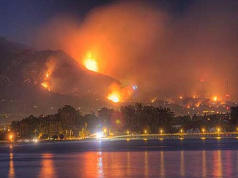 Нова евакуация в Калифорния заради пожарите (СНИМКИ и ВИДЕО)