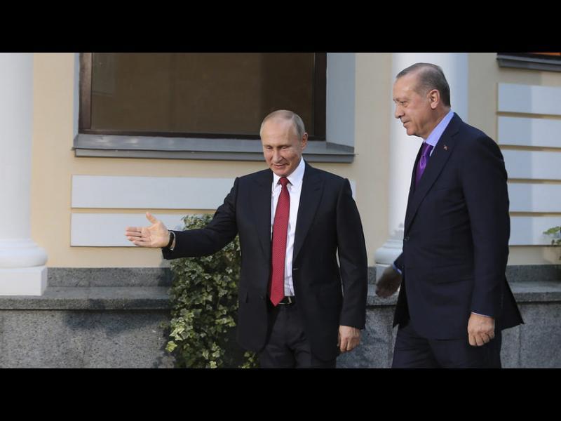 Путин отново пристига в Турция, за да обсъди с Ердоган Сирия и Ерусалим