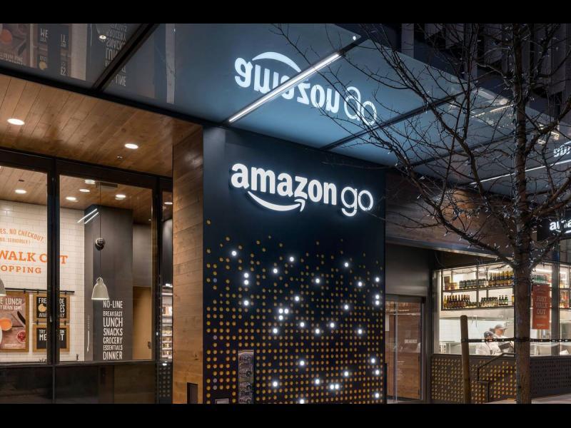 Amazon oтвори първия супермаркет на самообслужване